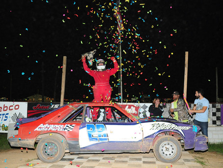 Demmy Wins Charger Championship Race; Nunzi Tops Fall Brawl
