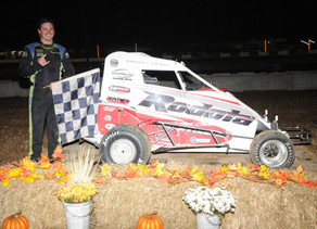 Brenden Bright Sweeps 600 Micro Sprint Weekend at Linda's National Open