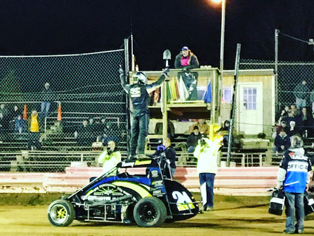 First Midget Triumph Highlights Perfect Night for Tommy Kunsman