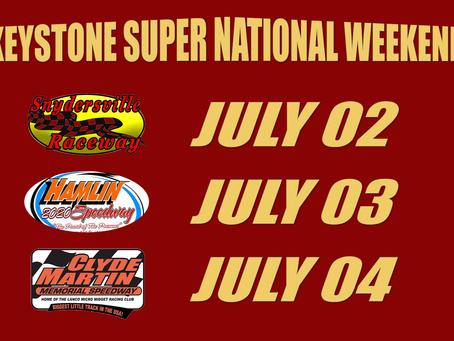 Pa's Super National Weekend lurking around the corner