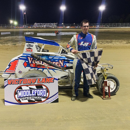 Reimert Stars in Speedstr Middleford Speedway Debut