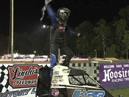 Layser wins 600's; Pascoe closes Legends season & Tk doubles up
