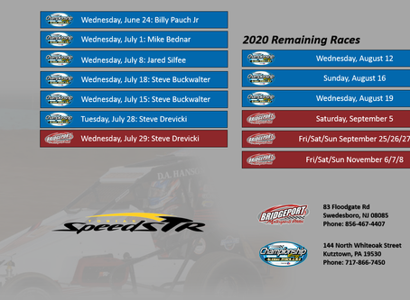 August Busy for USAC All Pro Speedstrs