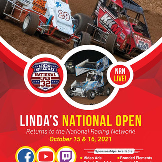 National Racing Network To Air 32nd Linda's National Open This Weekend