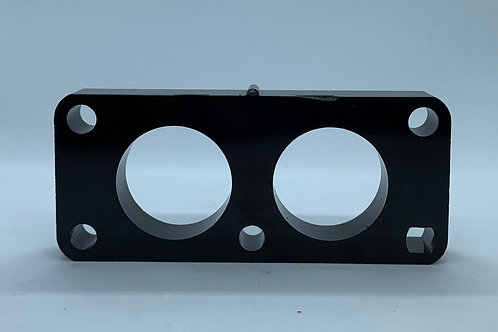 Carb Spacer Two Hole