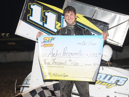 Pasquerella Posts Upset Win in 270 Micro Sprint National Open