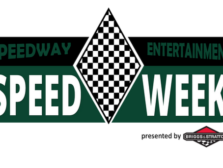 2021 Speedweek Dates are Set