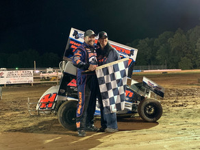Boyer, Tk, Glass win Micro Sprint races; Hitzler Poker Series Winner