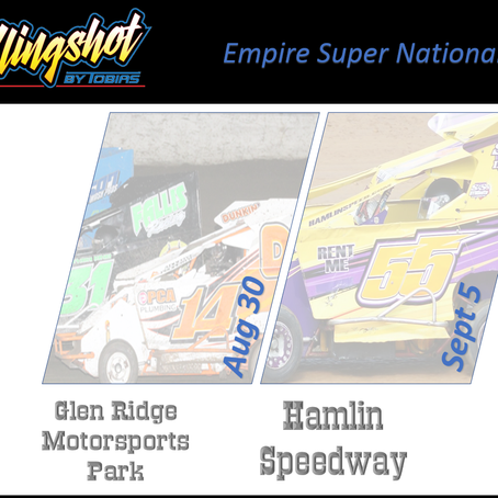 Empire Series Super National Scheduled Aug 30/Sept 5