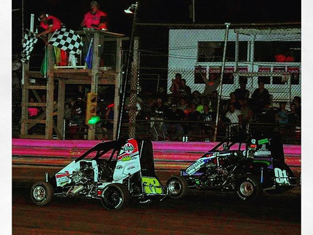 Maurer wins 600 Micro Sprint Thriller; Bealer Hall of Fame Classic Winner