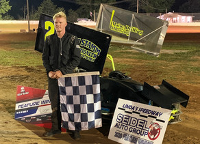 Logan Rhoads wins the Big One for the 125 Micro Sprints