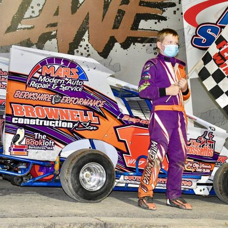 Albany-Saratoga Speedway Junior Win to Twing