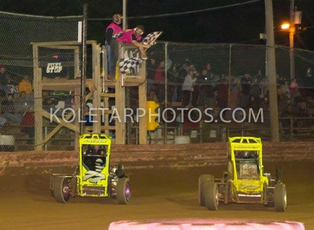 Bright ends ARDC season with win; Perchak doubles up