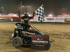 Maurer scores in 600 Micro Sprints; Harris first in Modifieds