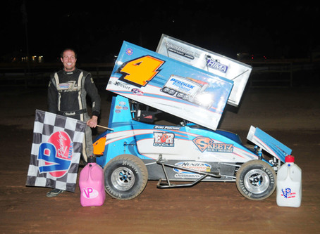 Quick Tops 600 Micro Sprints; Houndeshell wins Legends