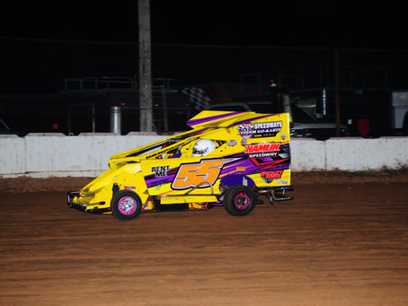 Neary Steals a Win at Middleford Speedway return