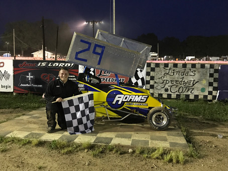 First Time Winner Dylan Adams joins former champs Hitzler and Whary as winners