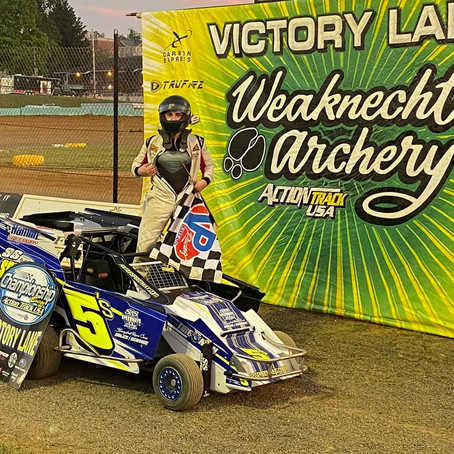 Buccafusca and Tyler Hoch lead Wednesday Night Racers