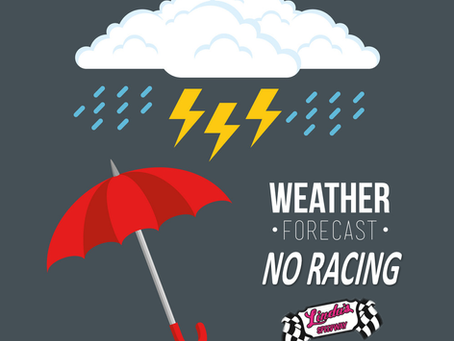 Aug 27 Racing Canceled; Racing returns Sept 3
