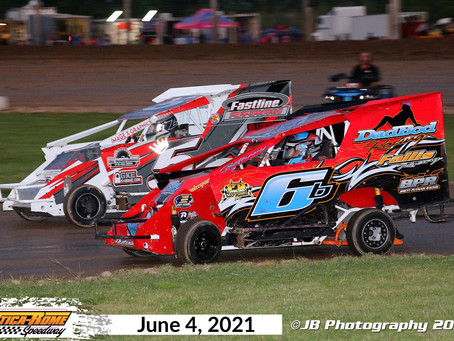 Empire Series Utica-Rome Speedway Race rescheduled for July 30.