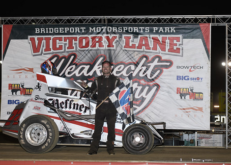 Bednar Charges Through Field for Bridgeport Triumph