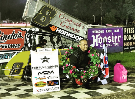 Adams Auto Sales Hall of Fame Classic to Scott Gingrich