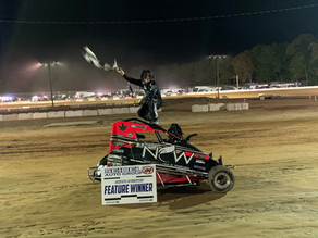 Sheffield Scores first win; Rutherford, Hitzler, Hostetter return to victory lane