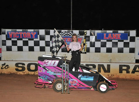 Kimmons flexs at Southern Raceway to close Labor Day Weekend