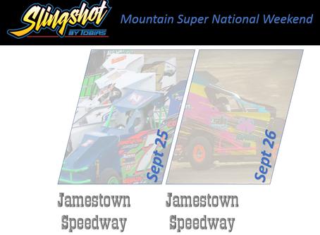 Mountain Series Super National Weekend Sept 25 & 26