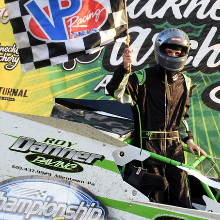 "Hoch ""Golden Hammer"" Winner; Danner First at Action Track"