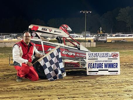 Hartman returns to victory lane; Barlet first time winner