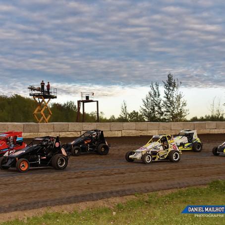 Lague First at Autodrome Drummond/ Lague First à Autodrome Drummond