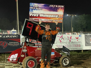 Cliff Brian Jr. Cashes In; Miller and Bealer Winners
