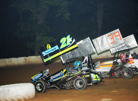 TK Doubles Up; Hollenbach nets 10th Charger Win