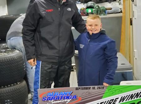 """Bam Bam"" conquers Albany-Saratoga Speedway Friday"