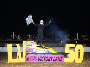 Neary Slingshot LV 50 Win; Zimmer, Hollenbach & Brian also winner