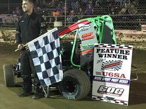 Severn scores First 600 Micro Sprint win; Thompson powers to Chase win