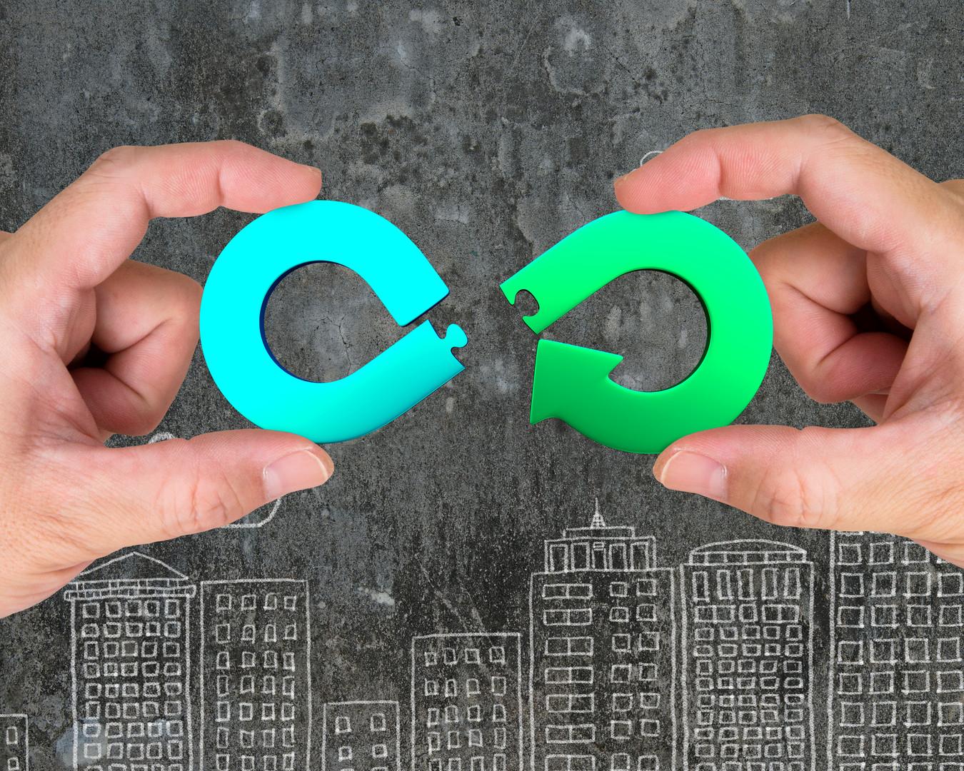 Circular economy concept_