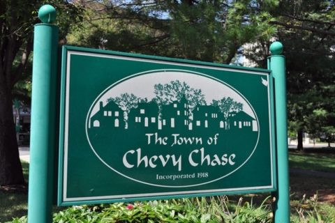 Town of Chevy Chase Sign