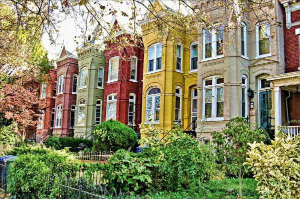 Capitol Hill DC Houses