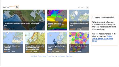 Google Collaborative Maps - Content Design