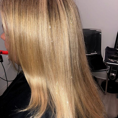 Fairy Hair! 🧚😜 #sparkle #fairies #blon