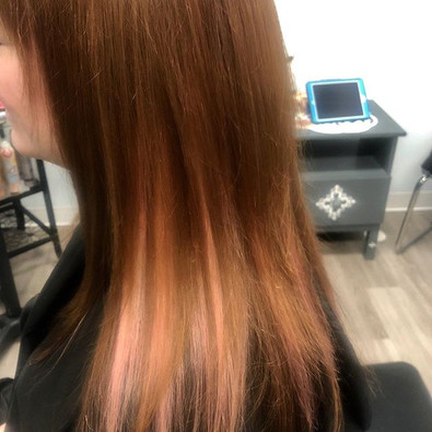Pink extensions made special every time