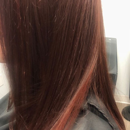 Red, Red, Red 😀 #pravana #redheads #pur
