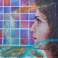 Self portrait/Autoretrato