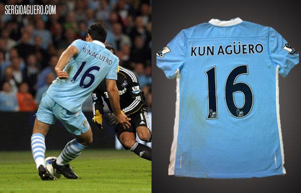 Camiseta del debut del City