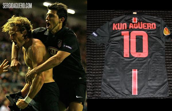 Camiseta del juego contra Liverpool
