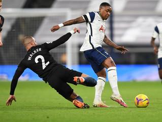 Derrota frente al Tottenham