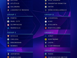 El City en el Grupo C de la Champions