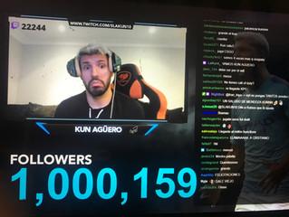 Más de un millón de seguidores en Twitch